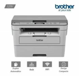 Impressora Multifuncional Brother Dcp-b7520dw B7520 Wi-fi - baixo custo por pagina