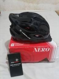 Capacete de ciclismo absolute Nero novinho na caixa