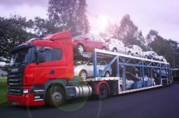Ponto P a P transporte_Cegonha p/ carros e motos para todo Brasil  com seguro total