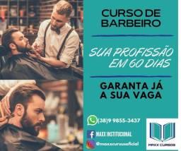 CURSO DE BARBEIRO EM MONTES CLAROS