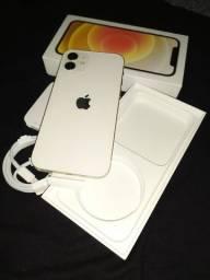 iPhone 12 128GB Branco Super NOVO