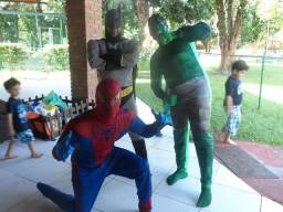 Heróis para festa infantil