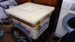 Carrinhos de sorvete