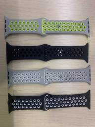 Pulseira Silicone Para Apple Watch 38mm/40mm/42mm/44mm