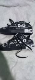 Kit Tênis+Camisa Dolce e Gabbana premium