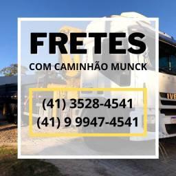 Caminhão Munck a R$120 a hora