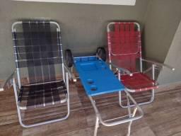 Título do anúncio: Cadeiras de Praia com carinho .