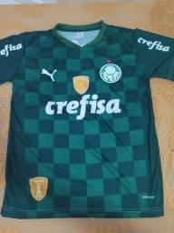 Camisa palmeiras  2021 nova temporada verde e azul do goleiro.