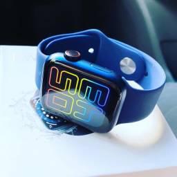 Lançamento smart watch hW 12 + pulseira extra de brinde