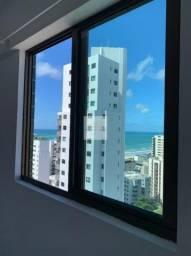 Edf. Ada Melo, Boa Viagem/ 02 quartos, sendo 01 Suíte/70M²/Andar Alto/Mobiliado/Tx inc...