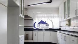 Título do anúncio: Apartamento com 3 dormitórios, sendo 2 suites para alugar, 136 m² por R$ 2.600/mês - Santa