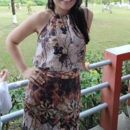 Vestido longo estampado - Ipatinga/MG