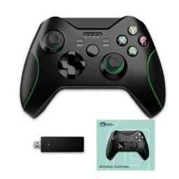 Controle Xbox One e PC Sem Fio Bateria Recarregável Novos!