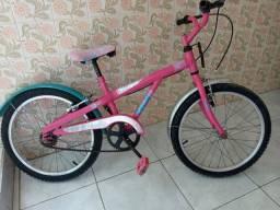 Bicicleta Caloi Barbie feminina