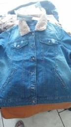 Jaqueta jeans juliete pelinho