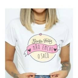 Camisas femininas 100 algodão (53,00