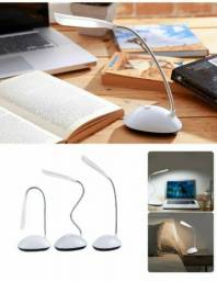 Título do anúncio: Luminária Articulada sem Fio Branca/ Mini luminária