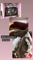 Bolsas variadas couro