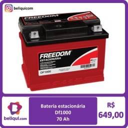 Título do anúncio: Bateria estacionária | 70 Ah | Freedom