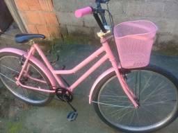 Vendo essa bicicleta rosa