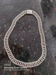 Título do anúncio: Cordão de prata fina joia