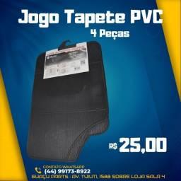 Tapete PVC Jogo 4 Peças Universal