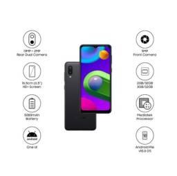 Celular Samsung Galaxy M02 32GB / 3GB Dual Sim Tela 6'5 Preto