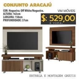 Título do anúncio: Rack com painel Aracaju