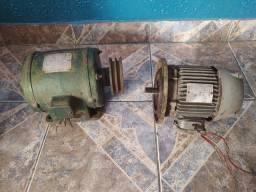 2 motores elétrico monofásico