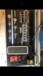 Pedaleira Zoom G7.1ut + Pedal MXR Custom Badass ?78 + Hardcase + 10m de cabo + Fonte