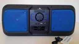 Caixa De Som Wireless Amplificada KTS 1082 Bluetooth e Controle: