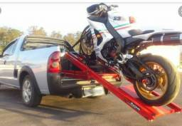 Reboque,guincho especializado transporte de motos,oficina