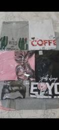 T-shirts Blusas Feminina $ 30.00