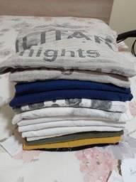 Camisetas adultos e adolescentes