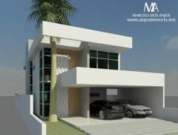 Casa em construção, no Jardim América, lote B05.