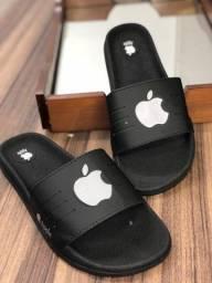 Chinelo Slide Apple Refletivo