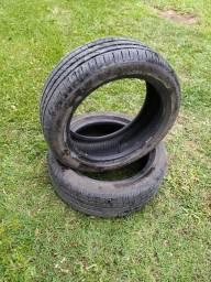 """Título do anúncio: Par de pneus aro 16"""""""