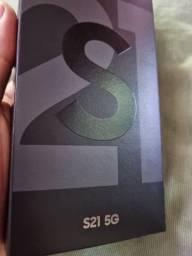 Samsung Galaxy S21 8G 128GB cinza 4x s/juros