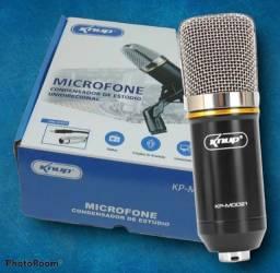 Microfone completo omoredicional condensador de estúdio