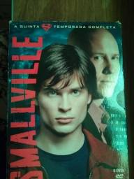 Título do anúncio: Box Dvd Smallville 5ª Temporada completa (6 Discos) original - usado