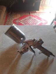 Pistola de pintura gravidade