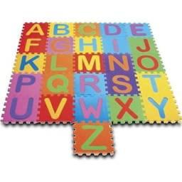 Alfabeto De Eva completo com 26 pçs de 30x30x8mm