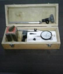 Kit relogio comparador e base magnetica