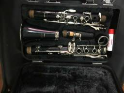 Clarineta Yamaha semi- nova modelo estudante #20 Made in Japan