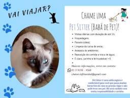 Cat Sitter - Babá de gatos (e outros animais domésticos)