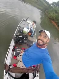 Barco pesca esportiva 40hp conjunto - 2012