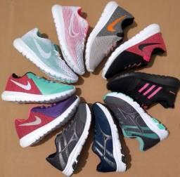 Tênis Nike, Mizuno e Adidas Unisex (Promoção Limpa de Estoque)