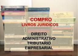 Compro livros jurídicos
