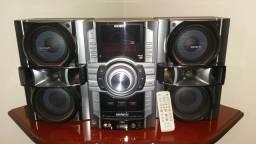 Mini System Mp3 c/ usb Sony