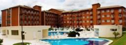 Flat para temporada em caldas novas, lagoa quente hotel flat, 1 dormitório, 1 banheiro, 1